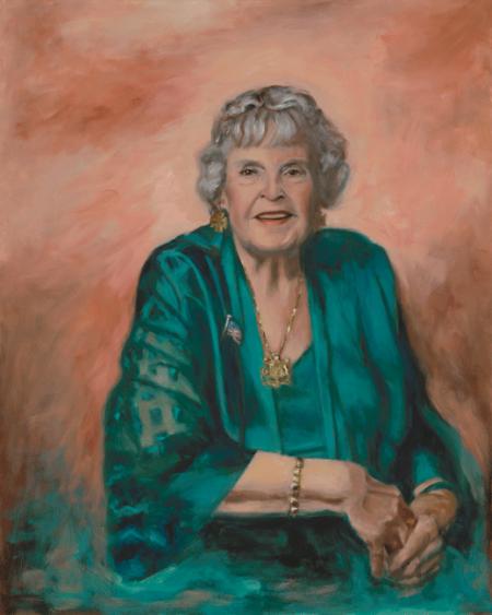 Oil Portrait of the Countess de Hoernle